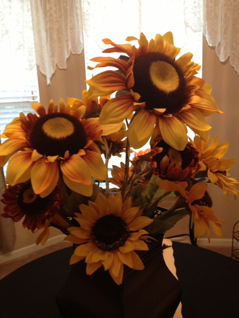 Table Sunflowers
