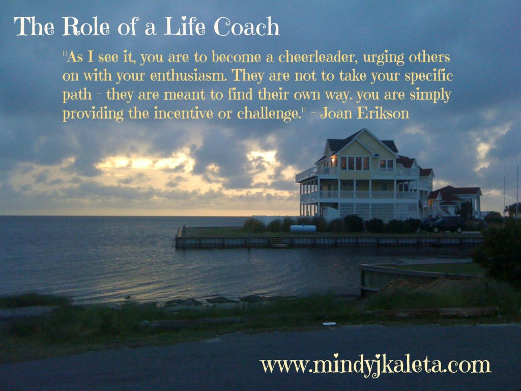 The Role of a Life Coach with website