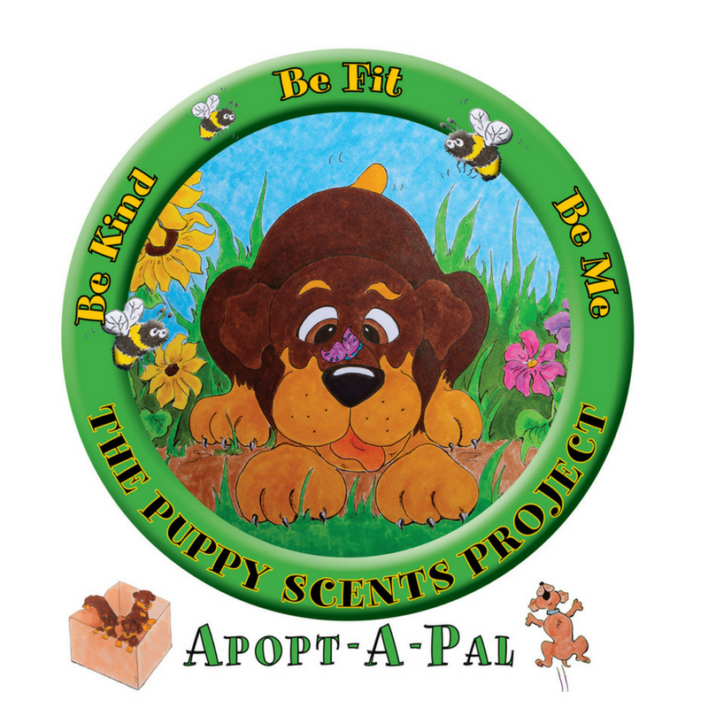 Puppy Scents Project – Be Kind, Be Fit, Be Me