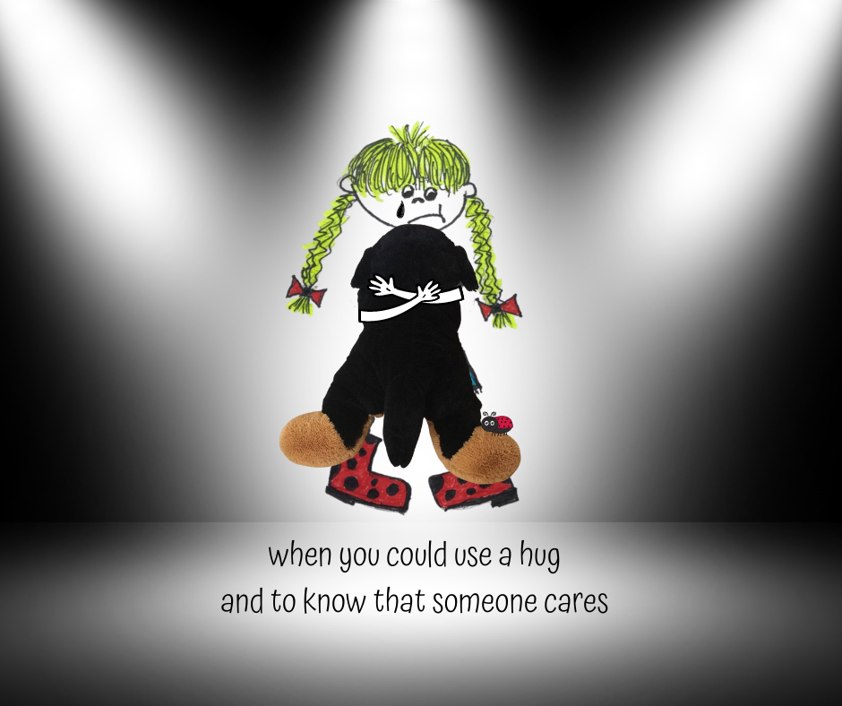 when you could use a hug